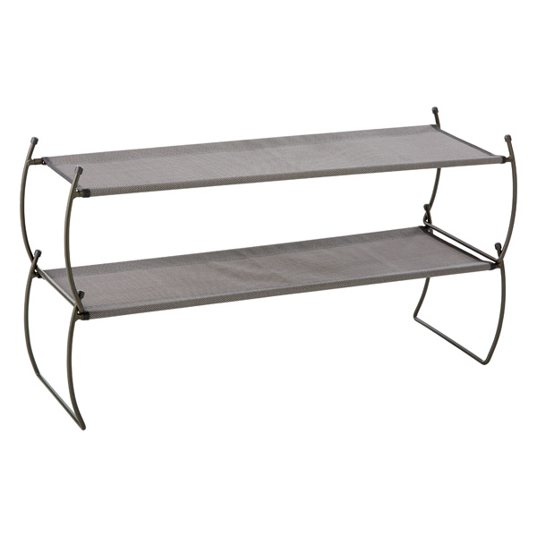 Platinum Carrie Stacking Shoe Shelf by Umbra®
