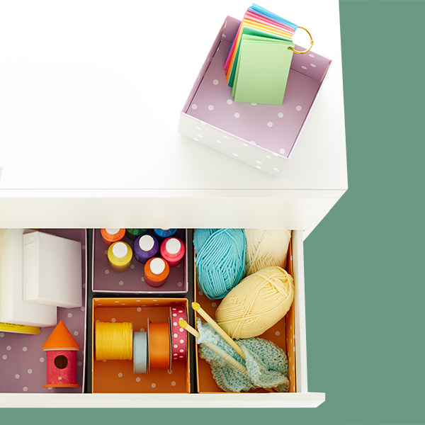 Purple Bigso™ Pippi Drawer Organizers