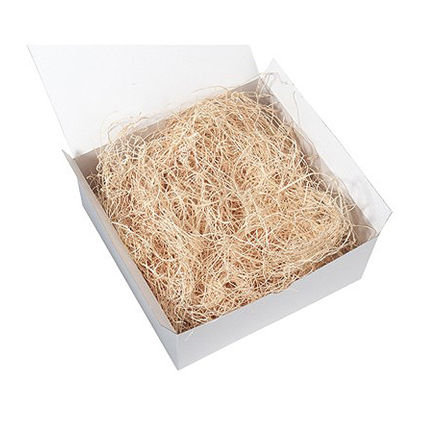 Natural shredded paper
