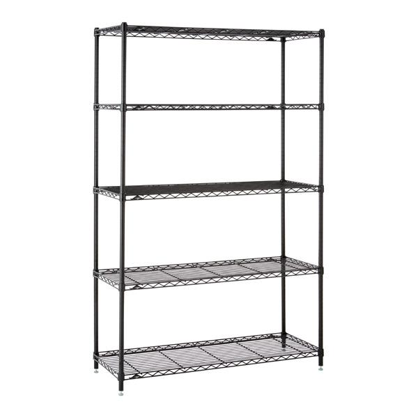 Kitchen Shelves Black
