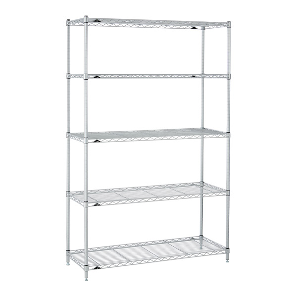 Kitchen Shelves Silver