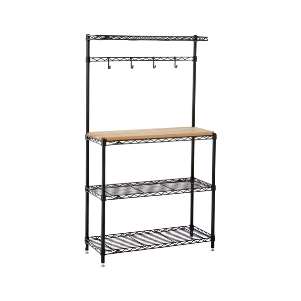 Baker's Rack Black