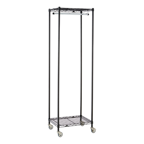 InterMetro Small Garment Rack Black