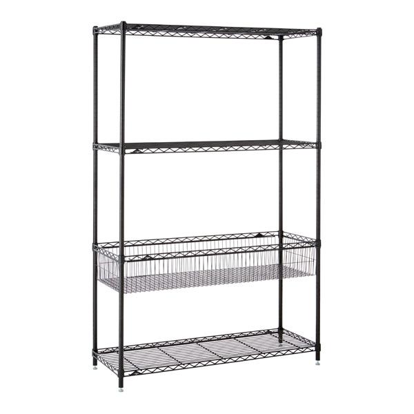 Basket Shelf Solution Black