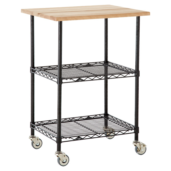 Chef's Cart Black