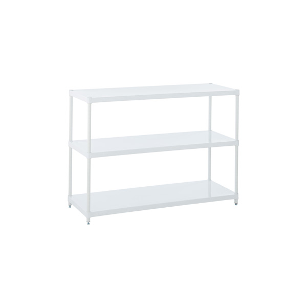 Solid Shelving White