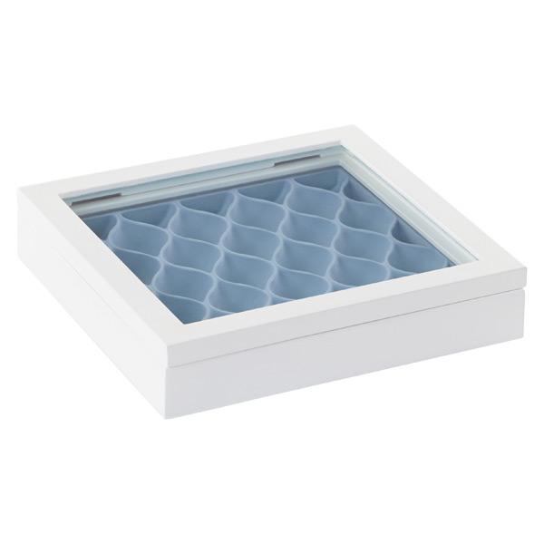 Umbra Waverly Jewelry Box White