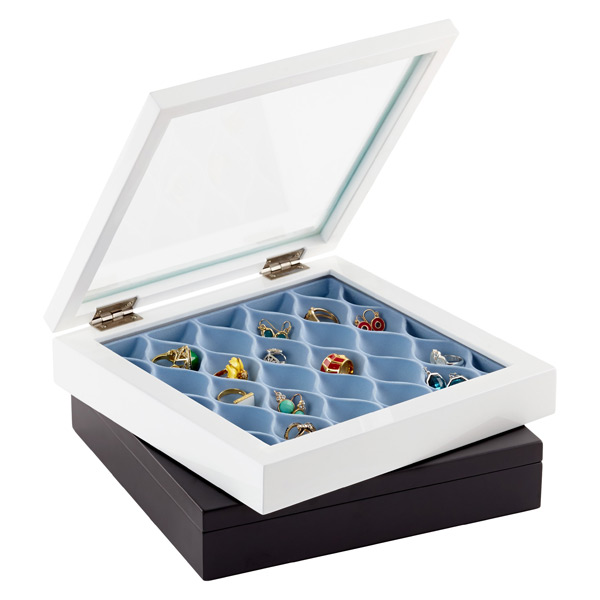 waverly jewelry box by umbra the container store