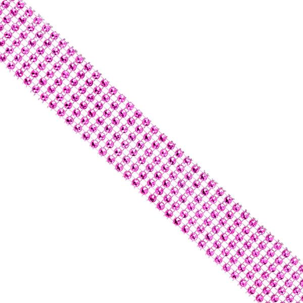 Wide Diamond Wrap Pink