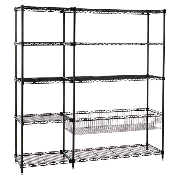 Playroom Shelving Black