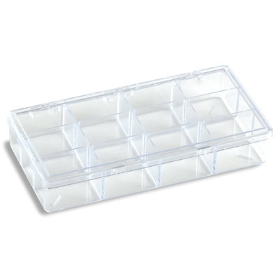 12-Compartment Box Clear
