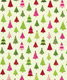 Calico Trees Wrap Green/Pink