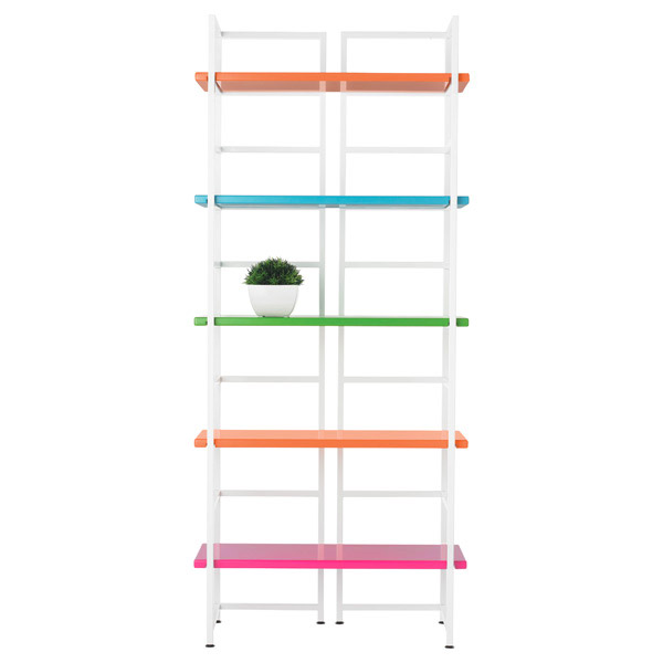 Multi Color Connections Shelving
