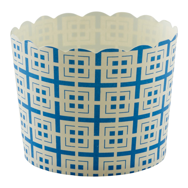 Large Baking Cups Tiles Blue Pkg/20
