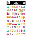 Lowercase Bright Alphabet Stickers