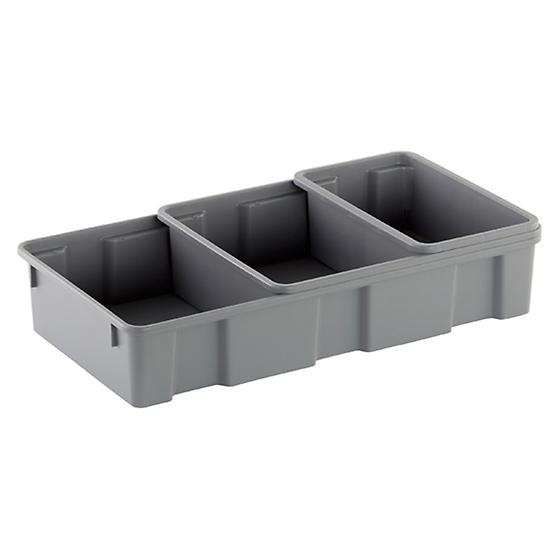 Grey Utility Trays