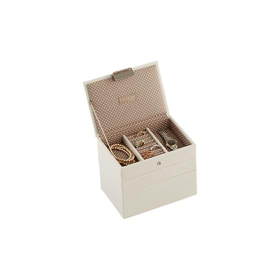 Vanilla Mini Stackers Premium Jewelry Storage