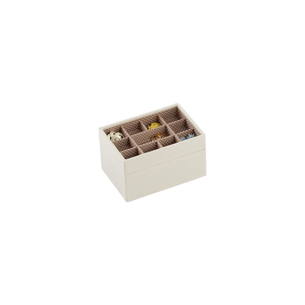 Vanilla Mini Stackers Premium Jewelry Storage