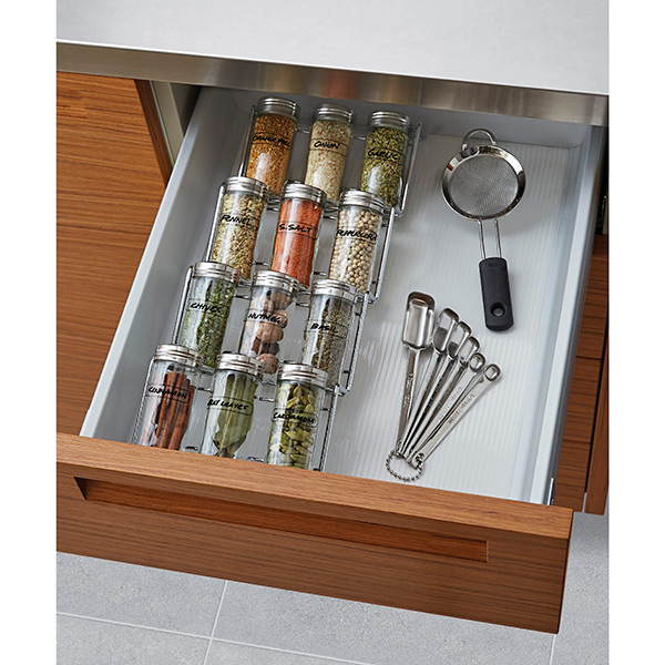 In-Drawer Spice Rack Set