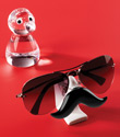 Nosy & Antonio Glasses Holders