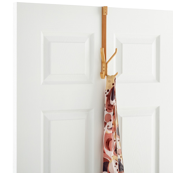 Twin Bamboo Overdoor Hook