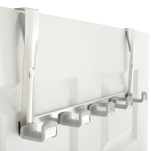 Good Grips® 5-Hook Overdoor Rack