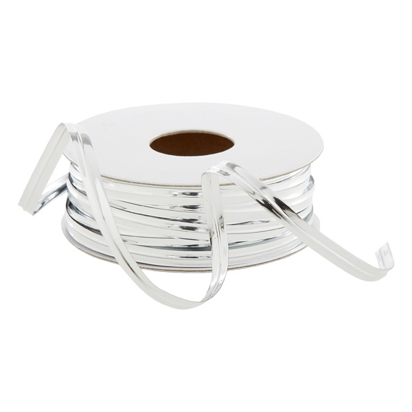 Metallic Ribbon Wire Silver