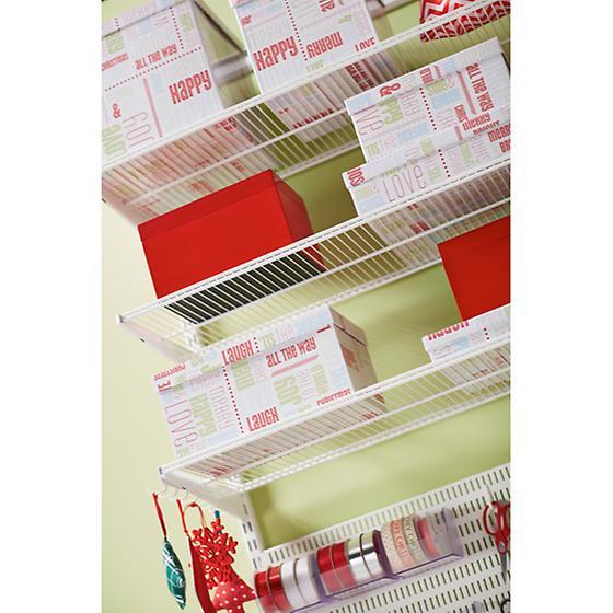 White elfa Wrapper's Dream Closet