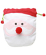 Medium Santa Cotton Sack Red & White