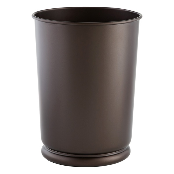 Cameo Wastebasket Bronze