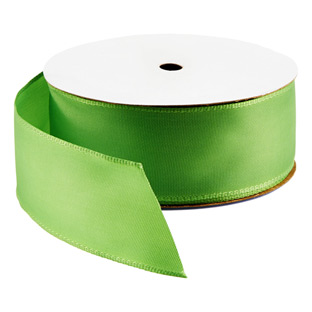 Bright Kiwi Wired Ribbon