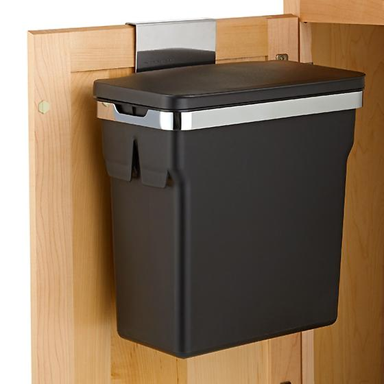 Simplehuman In Cabinet Trash Can The Container Store