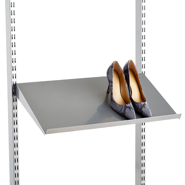 Solid Metal Shelves