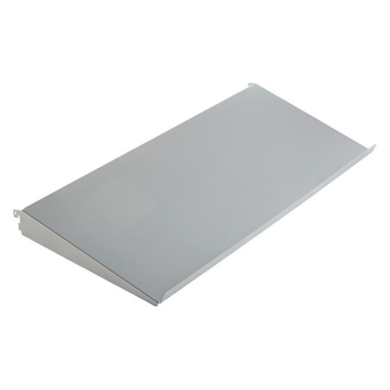 Platinum elfa Angled Solid Metal Shelves