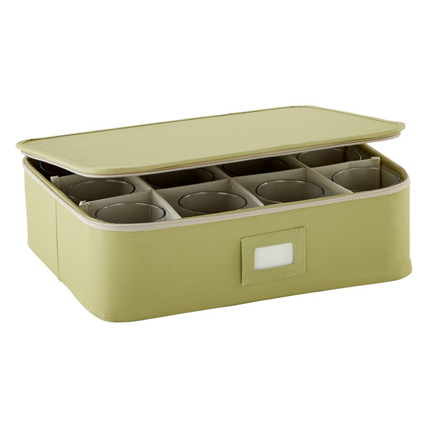Green Cup/Mug Storage Case