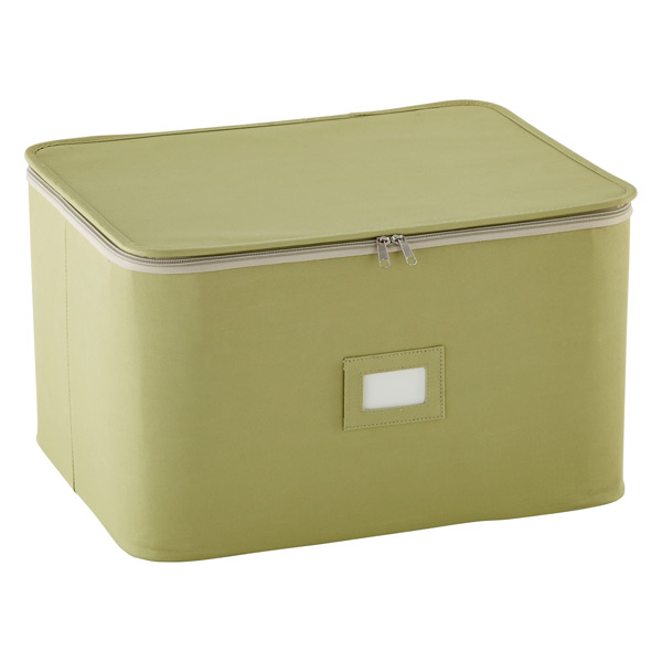Green Stemware Storage Case