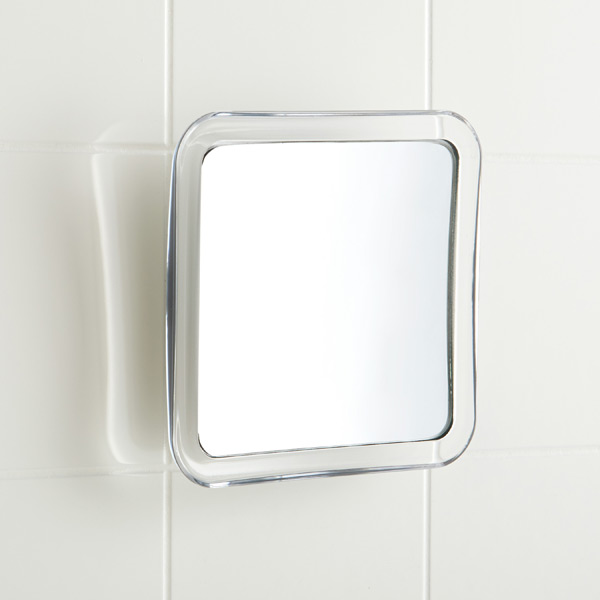 Travel Magnifying Suction Mirror Clear