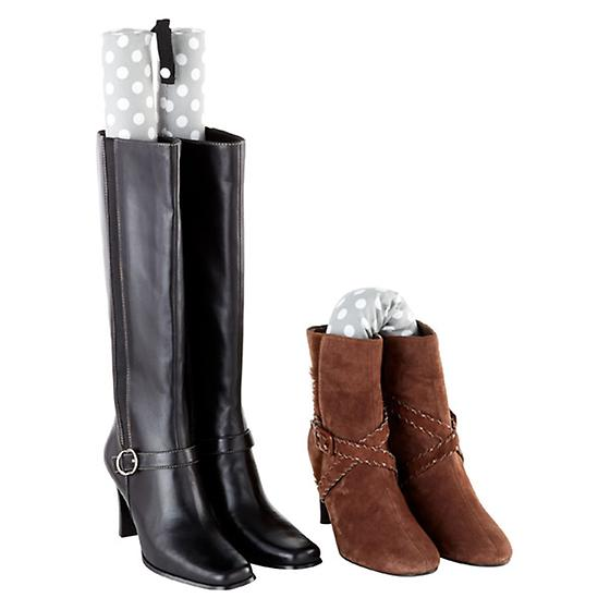 Bamboo Charcoal Tall Boot Shapers