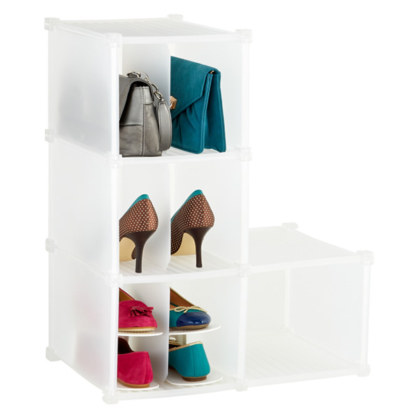 3-Section Shoe & Accessory Grid
