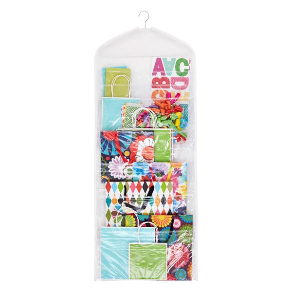 Hanging Gift Tote Organizer White