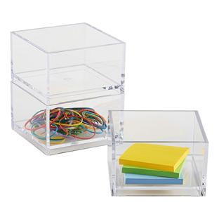 Clear Mini Stack Box