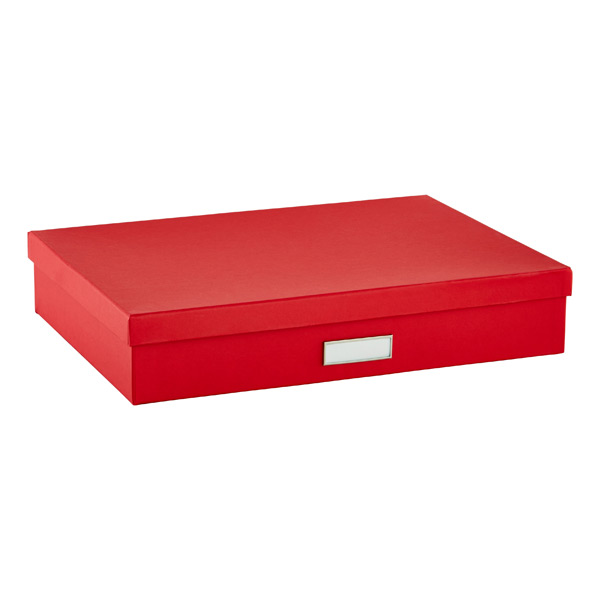 Bigso Stockholm Document Box Red