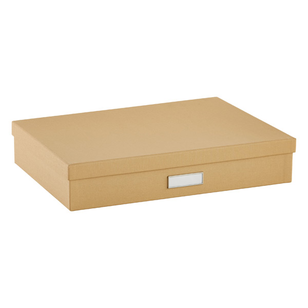 Bigso Library Document Box Khaki
