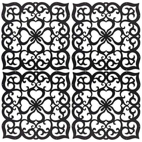 Filigree Decor Screen Panels
