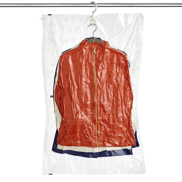 Ziploc Hanging Space Bag Clear
