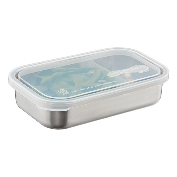 Stainless Steel Divided-to-Go Container