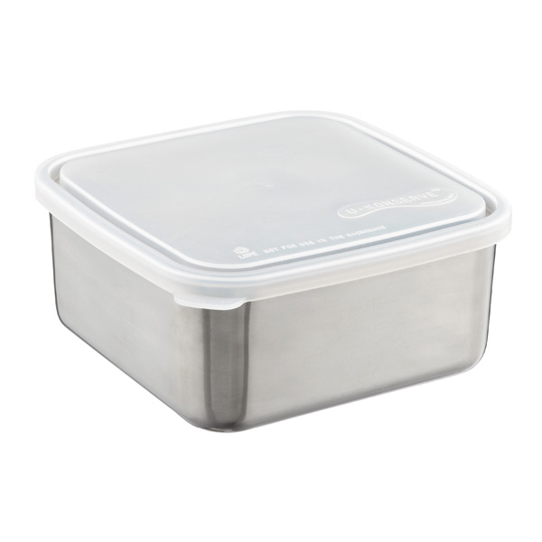 50 oz. Square-to-Go Container Stainless Steel