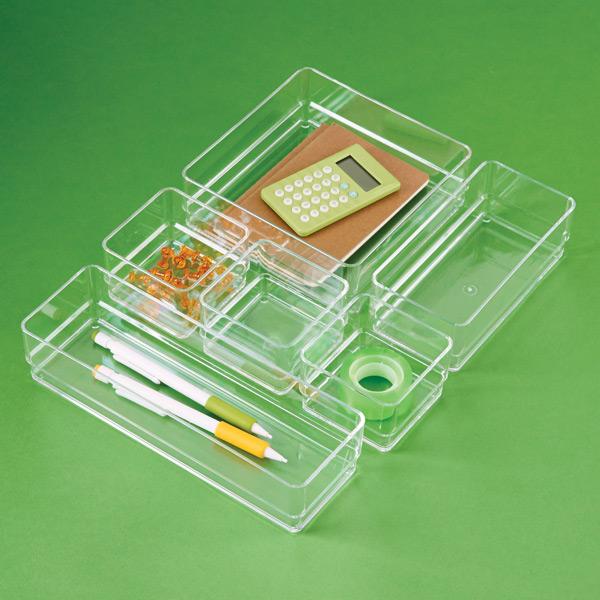acrylic desk organizer set 2