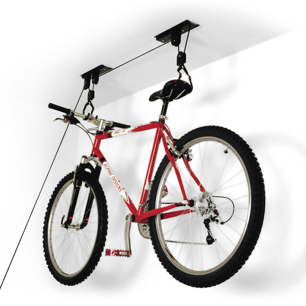 Ceiling Mount Bike Lift Black