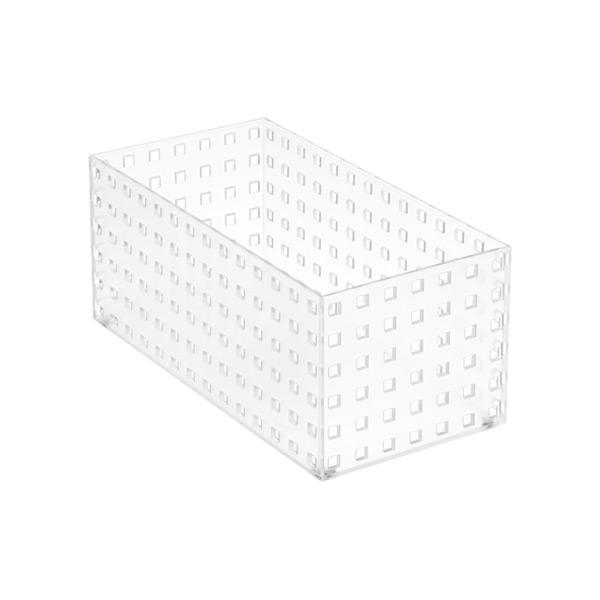 """Like-it Bricks 11"""" Medium Tall Bin Translucent"""